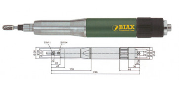 Amoladoras neumáticas - AMOLADORA BIAX SBRD 820 Y SBRH 820