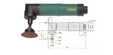Amoladoras neumáticas - AMOLADORAS BIAX WRD 6-20/3 Z y WRH 6-20/3 Z