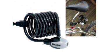 Cerrajeria - CABLE ESPIRAL ANTIRROBO BICICLETA CNM8236EURDPRO