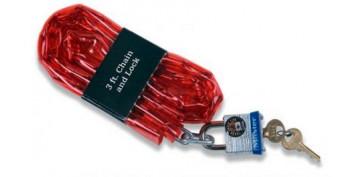 Cables y cadenas - CADENA ACERO Y CANDADO CNM716EURD