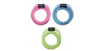 Cables y cadenas - CABLE ANTI ROBO CON COMBINACION CNM8143EURDPROCOL
