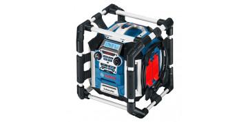 Cargadores de baterías - RADIO CARGADOR BATERIAS BOSCH GML 50 0.601.429.600