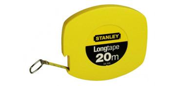 Medidores de distancias - CINTAS METRICAS DE ACERO 0-34-102/105/108 STANLEY