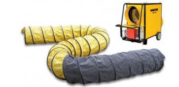 Calefacción gasóleo - CONDUCTO FLEXIBLE PARA CALEFACTOR MASTER 230MM 4515.557