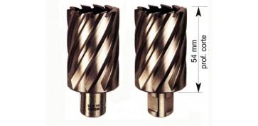 Cepillos, tazas y coronas - CORONA DE CORTE HSS-Co D = 100 REF. 500C
