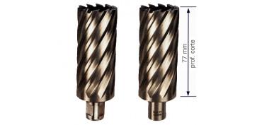 Cepillos, tazas y coronas - CORONA TALADRO ELECTROMAGNETICO D=77 REF. 750C