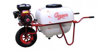 Fumigadoras - CARRETILLAS PULVERIZADORAS 1 O 2 RUEDAS CAMPEON MOTOR 4 TIEMPOS