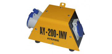 Generadores - CONTROLADOR DE TENSION AY-200-INV MN 582190