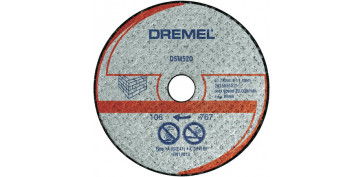 DISCO DE MAMPOSTERIA DSM520 DREMEL REF:2.615.S52.0JA