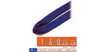 Elevación Sujeción y Transporte de Cargas - ESLINGA TUBULAR 8T
