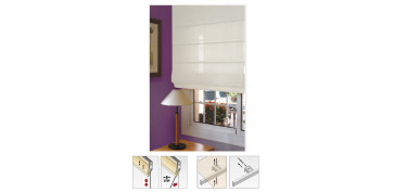 ESTOR VENTANA PLEGABLE CITY BLANCO ROTO