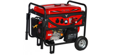 Generadores gasolina - GENERADOR TRIFÁSICO OMEGA YH6500SE QQ551957