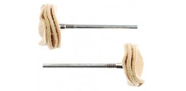 Mini herramientas DIY - DISCOS DE PULIR DE GAMUZA 28298