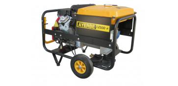 Generadores gasolina - GENERADOR AYERBE 12500 H TX A/E TRIFASICO 5418060