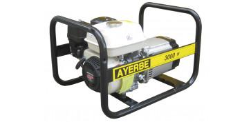 Generadores gasolina - GENERADOR AYERBE 3000 H MN GASOLINA 5420000