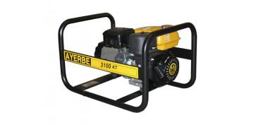 Generadores gasolina - GENERADOR ELECTRICO AYERBE 3100 KT-MN 5430000