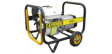 Generadores gasolina - GENERADOR AYERBE 3800 H MN GASOLINA 5420020