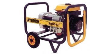 Generadores gasolina - GENERADOR ELECTRICO AYERBE 3800 KT-MN 5430010