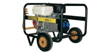 Generadores gasolina - GENERADOR AYERBE 5000 H MN A/E 5420060
