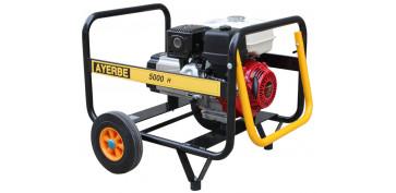 Generadores gasolina - GENERADOR AYERBE 5000 H MN GASOLINA 5420040