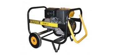 Generadores gasolina - GENERADOR ELECTRICO AYERBE 5200 KT TX 5430030