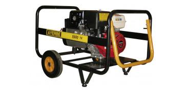 Generadores gasolina - GENERADOR AYERBE 5500 H TX A/E REF. 5420100