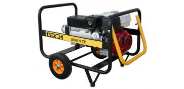 Generadores gasolina - GENERADOR AYERBE 5500 H TX GASOLINA 5420080
