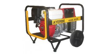 Generadores gasolina - GENERADOR AY- 6000 AVR REG. ELECTRONICA 5418090