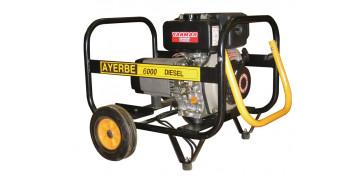 GENERADOR AYERBE 6500 TX A/ELECTRICO 5418450