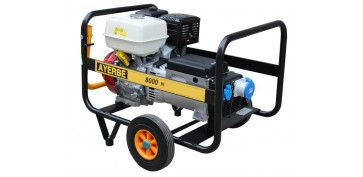 Generadores gasolina - GENERADOR AYERBE 8000 H MN A/E 5420140