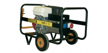 Generadores gasolina - GENERADOR AYERBE 8000 H TX A/E GASOLINA 5420180