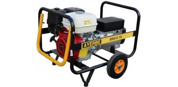 Generadores gasolina - GENERADOR AYERBE 8000 H TX 5420160
