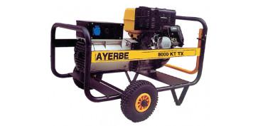Generadores gasolina - GENERADOR AYERBE 8000 KT TX TRIFASICO 5430050