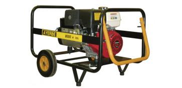Generadores gasolina - GENERADOR AYERBE 8000 H MN  GASOLINA 5420120