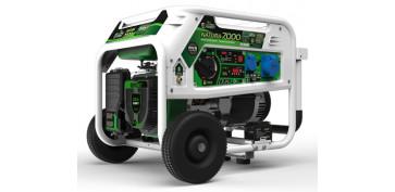 Generadores - GENERADOR A GASOLINA Y PROPANO NATURA 7000 GENERGY