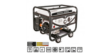 Generadores - GENERADOR A GASOLINA OMEGA INTERLAGOS YH2500