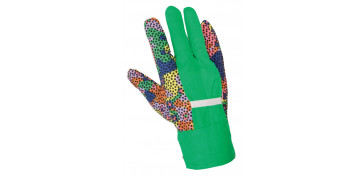 GUANTES ALGODON CANVAS 414PS JUBA 9603037