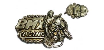 Antigüedades - HEBILLA PARA CINTURON BMX RACING