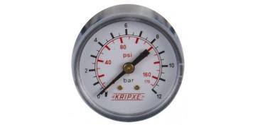 Accesorios neumatica - MANOMETROS DE PRESION KRIPXE ref: 007900-0600
