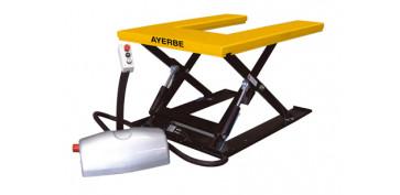 Elevación Sujeción y Transporte de Cargas - MESA HIDRAULICA AYERBE AY-1000-EMH 580085