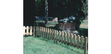 Cercado y ocultacion jardin - MINI VALLA DE MADERA COD: 406001