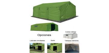 Tiendas de acampada - PABELLONES DE CAMPAÑA ALTUS VERDE
