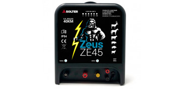 PASTOR ELECTRICO PARA VALLAS SOLTER ZEUS ZE45
