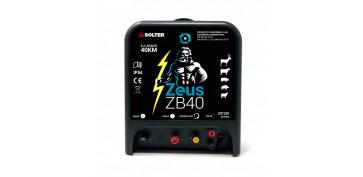 PASTOR PARA VALLADO ELECTRIFICADO A BATERÍA SOLTER ZB40 ZEUS 10034