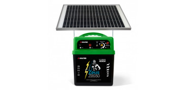 PASTOR ELECTRICO A BATERIA CON PLACA SOLAR DE SOLTER ZEUS ZBS50-KIT K0202