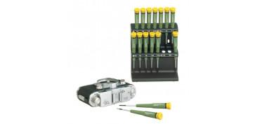 Mini herramientas DIY - KIT DESTORNILLADORES MINIATURA 28148