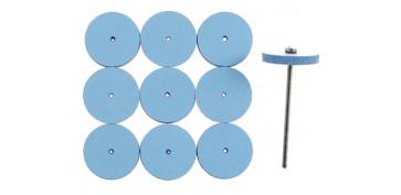 Mini herramientas DIY - PULIDOR EN FORMA DE RUEDA ELASTICO 28294