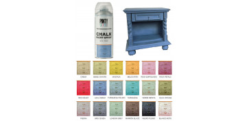 Aerosol o spray - PINTURA EFECTO TIZA CHALK SPRAY AZUL INDIGO