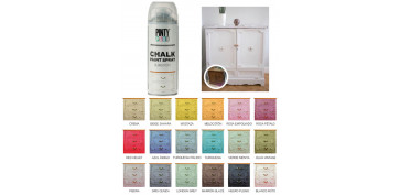 Aerosol o spray - PINTURA EFECTO TIZA CHALK SPRAY BLANCO ROTO