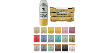 Aerosol o spray - PINTURA EFECTO TIZA CHALK SPRAY MOSTAZA